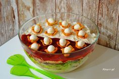 Sprawdź to, zjedz to! Easter Recipes, Party Snacks, Food And Drink, Menu, Cooking Recipes, Pudding, Lunch, Baking, Vegetables