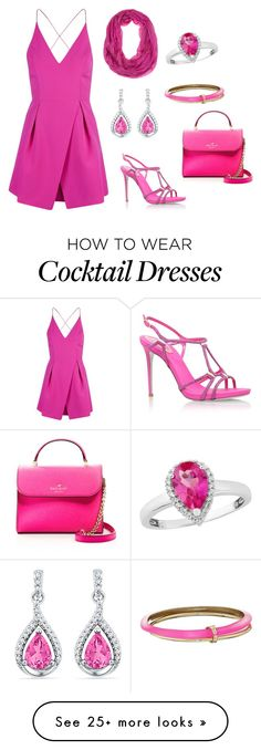 """""""For women :) (summer)"""" by amelikan23 on Polyvore featuring Topshop, René Caovilla, Alexis Bittar and Kate Spade"""