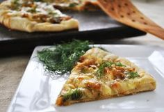 Caramelized Onion and Fennel Pizza