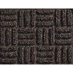 Blue Guardian Golden Series Chevron Indoor Wiper Floor Mat 3x10 Vinyl//Polypropylene