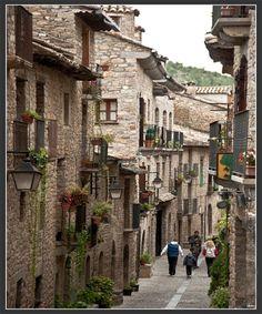 Ainsa Huesca Spain.