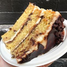 Baking Recipes, Dessert Recipes, Cookie Dough Cake, Delicious Desserts, Yummy Food, Caramel Chocolate Chip Cookies, Filling Food, Just Cakes, Breakfast Cake