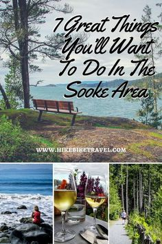 7 Great Things to do in Sooke British Columbia Hike Bike Travel 7 great things youll want to do in the Sooke Area near Victoria Victoria Vancouver Island, Victoria Island, Vancouver Travel, Butler, Visit Canada, Canada Trip, Wanderlust, Canadian Travel, British Columbia