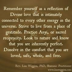 Rev. Lisa Wiggins, PhD, Shamanic Practitioner, Roswell, GA USA