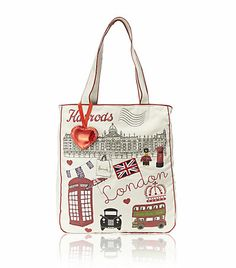 Harrods Crowning Glory Canvas Bag ��21.95 | Going Green | Pinterest ...