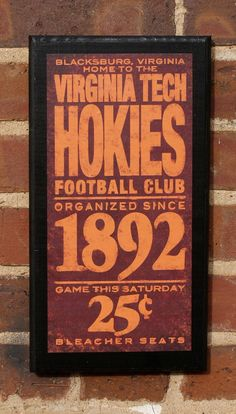 Hokie football <3