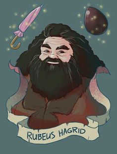 Hagrid is the best teacher in Hogwarts. Harry Potter Tumblr, Harry Potter Anime, Harry Potter Fan Art, Memes Do Harry Potter, Mundo Harry Potter, Harry Potter Ron Weasley, Harry Potter Drawings, Harry Potter Characters, Harry Potter Universal