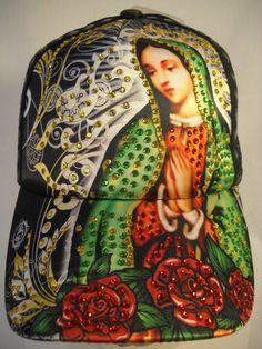Virgin Mary Virgen de Guadalupe Trucker Hat Rhinestone Adjustable Cap | eBay