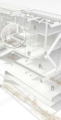 Infografía 3D constructiva (AutoCAD, Rhinoceros. VRay and Photoshop) by Leo Tabares de Nava