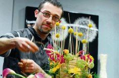 Cédric Tranchant fleuriste Meilleur Ouvrier de France MOF à Verdun