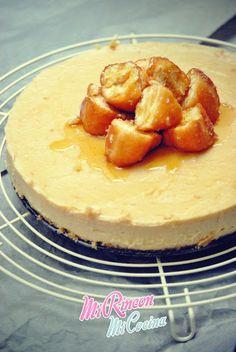 Mi Rincón, Mi Cocina - Repostería Creativa y Tradicional, Salados - Recetas de cocina: Tarta Cheesecake de Donuts | Donuts CheeseCake
