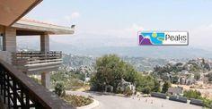The view from Peaks Hotel & Resort, Lebanon Lebanon, Balcony, Sidewalk, Outdoor Decor, Home Decor, Interior Design, Home Interior Design, Pavement, Outdoor Balcony