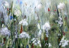 Lilac Flowers, Red Roses, Peacock Butterfly, Bird Artists, Irish Landscape, Green Valley, Irish Art, Jumping For Joy, Summer Glow