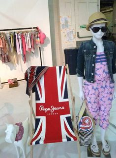 Pepe jeans fly the flag at Pure London trade fair Junior section for summer 2013