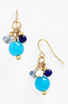 Lauren Ralph Lauren Cluster Drop Earrings available at Jewelry Design Earrings, Cute Jewelry, Chandelier Earrings, Beaded Earrings, Earrings Handmade, Jewelry Crafts, Beaded Jewelry, Bijoux Diy, Beautiful Earrings