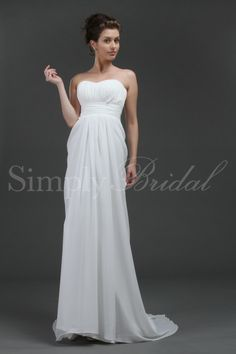 197.99 Simple Bridal gown