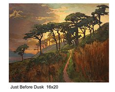 Justbeforedusk by Jan Schmuckal Oil ~ 16 x 20
