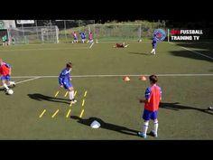 Football Training Drills, Youtube, Top, Workout Exercises, Football Drills, Bodysuit Fashion, Kids, Soccer Training Drills, Soccer Coaching