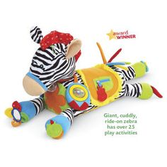 Ride-on Jumbo Activity Zebra - Toys, Games, Electronics & Crafts – Educational, Imaginative & Fun