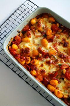 gnocchi ovenschotel vegetarisch