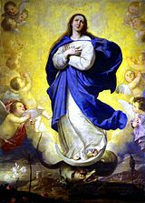 Inmaculada Concepcion (The Immaculate Conception) - José de Ribera (Spanish) Blessed Mother Mary, Blessed Virgin Mary, Religious Images, Religious Art, Immaculée Conception, Assumption Of Mary, Queen Of Heaven, Mama Mary, Baroque Art