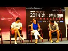 Tessa & Scott - AOI 2014 press conference in Guangzhou - YouTube