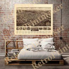 Egg Harbor City Atlantic Co. New Jersey NJ 1924 by RetroPrintmaker