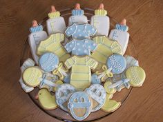 cookies for boy baby shower - Google Search