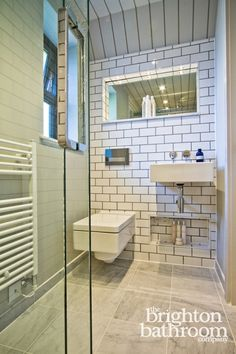 New York Loft Style Wetroom —Dyke Road, Hove | The Brighton Bathroom Company