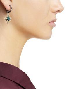 Gold Opal Cravelli Cross Earrings | Armenta | Avenue32,<31560.<3<3
