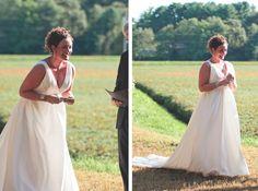 Backyard Rustic Bride