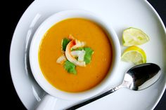 Buttercup Squash Soup with Coconut and Curry - 29 Delicious Asian-Inspired Soups