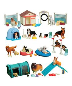Another great find on #zulily! 50-Piece Dog Academy Play Set by Constructive Playthings #zulilyfinds
