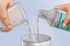 3 litros de agua morna 1 xicara de cha de agua oxigenada, misture e use, limpe chao, bancada, azuleijos etc, e ate para remover mofo e bolor dos armarios e paredes, deixe por 10 minutos e retire com pono umido.