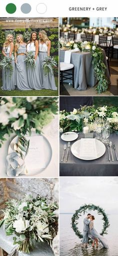 Greenry and gold wedding color ideas #weddingideas #weddingcolors #wedding #greenwedding #greenery #weddingtrends #wedding2018 http://www.deerpearlflowers.com/greenery-wedding-color-palettes/