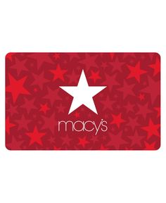 Macy's Star Gift Card with Letter Macys Gifts, Star Gift, Thing 1, Bodo, Gift Card Giveaway, Mens Gift Sets, Baby Clothes Shops, Greeting Cards, Gift Cards