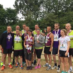 Team Ricoh at the British 10k London Run