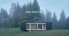 Ark-Shelter is a self-sustaining shelter. By collecting rainwater and using wind power to produce electricity, ark respects nature by being ecologically friendly. Change the way you live life, closer to nature. Architecture Websites, Architecture Student, Modern Architecture, Compact House, Closer To Nature, Cabins In The Woods, Rest Of The World, Wind Power, Ark