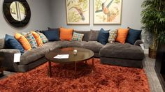 I love this sofa! It has been on my wish list forever! It seats so many and it is great for entertaining. We always have people over. We also like to lay on the sofa and watch tv. If we get this our current GF sofa set will go in our game room! | Houston TX | Gallery Furniture | @mattressmack