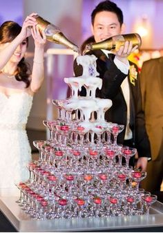7 Tier Champagne Tower