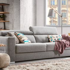 Sofa, Couch, Furniture, Home Decor, Products, Wood Steel, Wood And Metal, Fall Living Room, Natural Materials