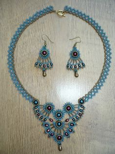 Beautiful Beaded Necklaces Inspiration from Perles Dent' Elles featured in Bead-Patterns.com Newsletter!