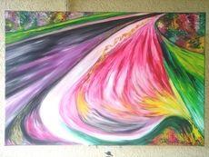 SALES Hände 90x60cm, Öl auf Leinwand by manuwa