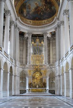 Gypsy Living Traveling In Style| Romantic Travel-The Chapel Royal at Versailles