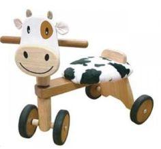 Paddie Rider 'Calffy' wooden ride on toy #kids #toys