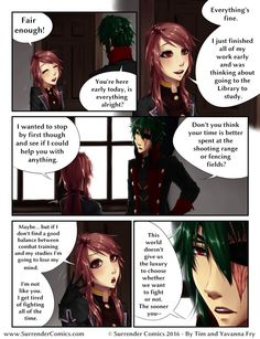 Ransomed Wings: Daydreams (Page 6) | Surrender Comics on Patreon