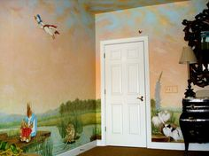 beatrix potter murals for child's room images | Peter Rabbit Mural inspired by Beatrix Potter by Visionary Mural Co