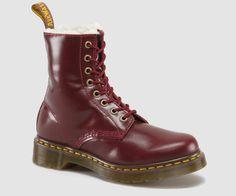 Dr. Martens faux-fur lined SERENA boot. Ideal for colder months.