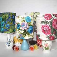 Lampshades by Folly and Glee.