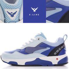 (SBENU) E-LINE CANDY CLAVY E(CL)-0010BLS Men Women Sneakers Running Shoes AOA IU #SBENUhellobincom #RunningFashionSneakersShoes